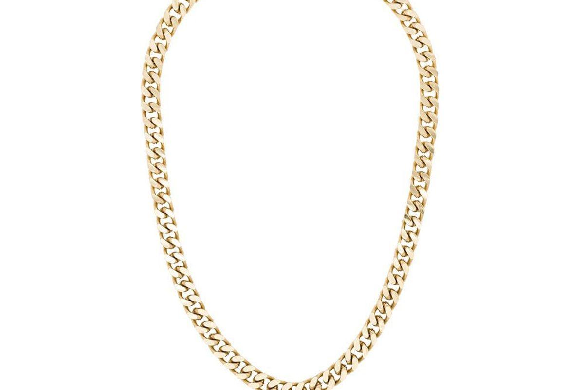 marcelo burlon county of milan logo pendant necklace