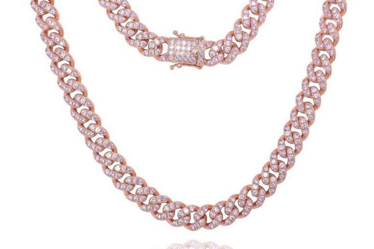 by lolita mini barbie cuban link necklace