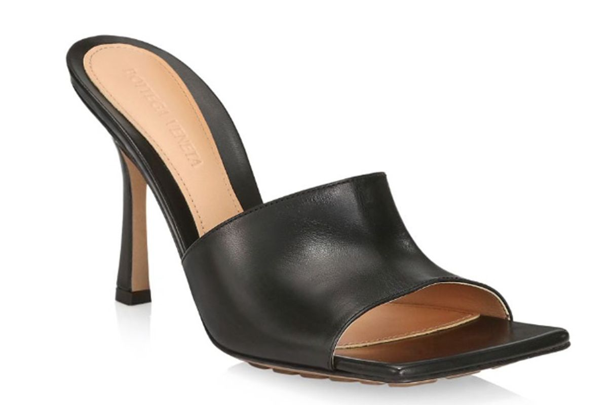 bottega veneta soft leather mules