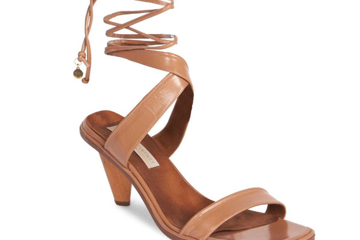 stella mccartney rhea lace up sandals