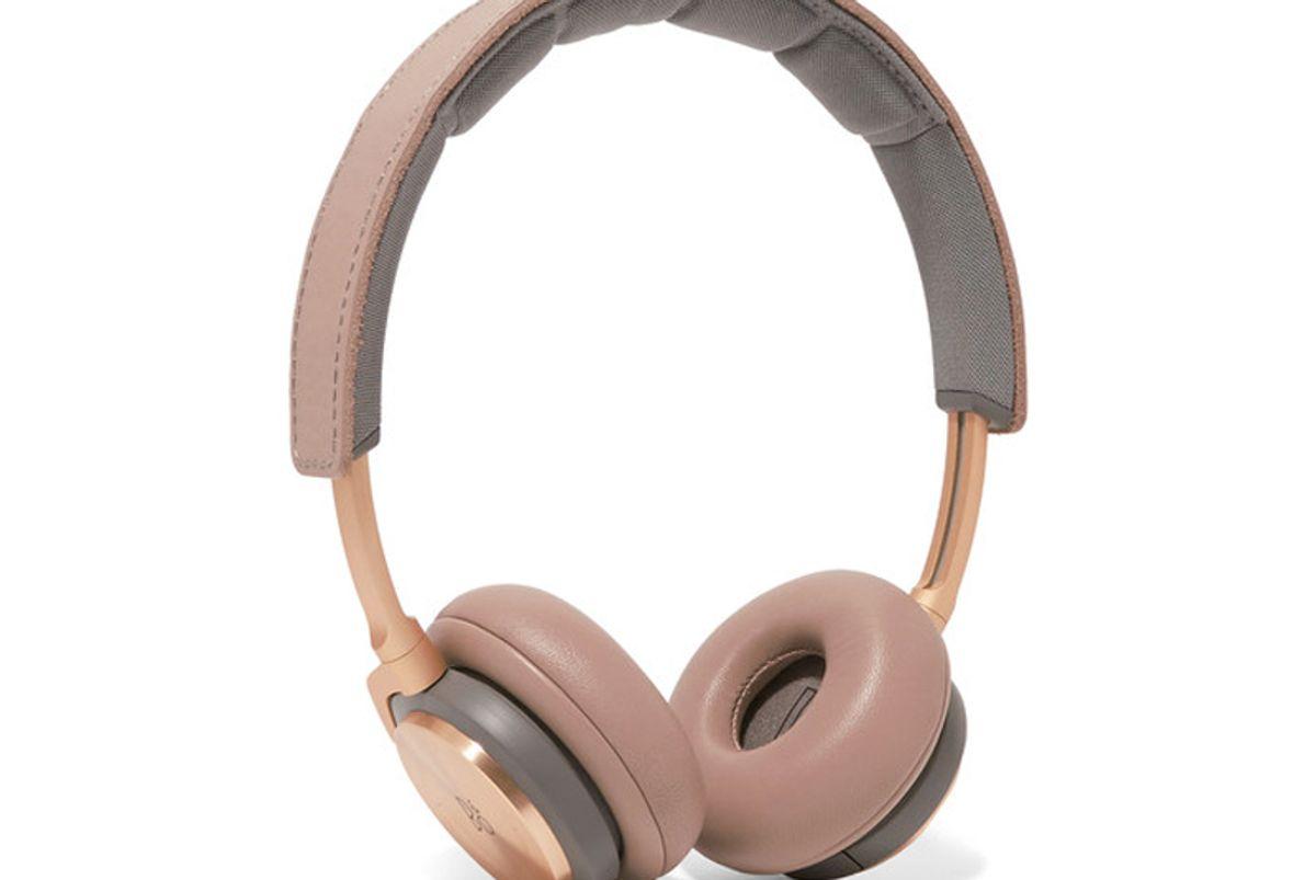 H8 Wireless Leather and Aluminum Headphones