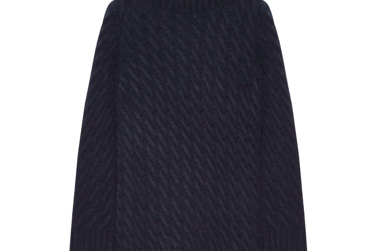 Landi Cable-Knit Cashmere Turtleneck Sweater