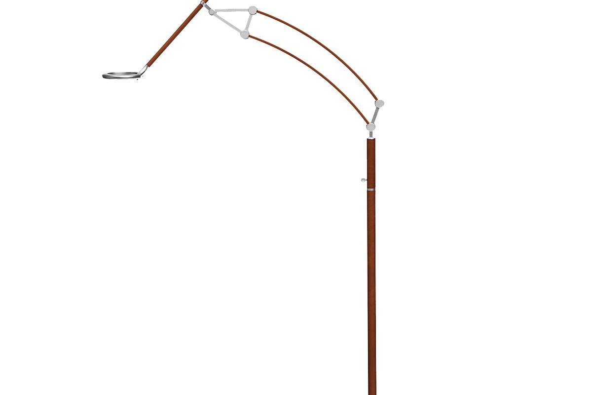 hermes pantographe universal reading floor lamp with pantographe universal led ring