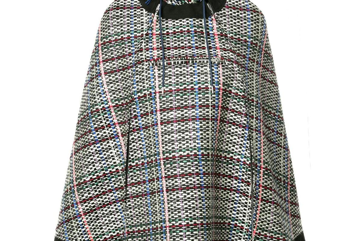 Tweed Poncho