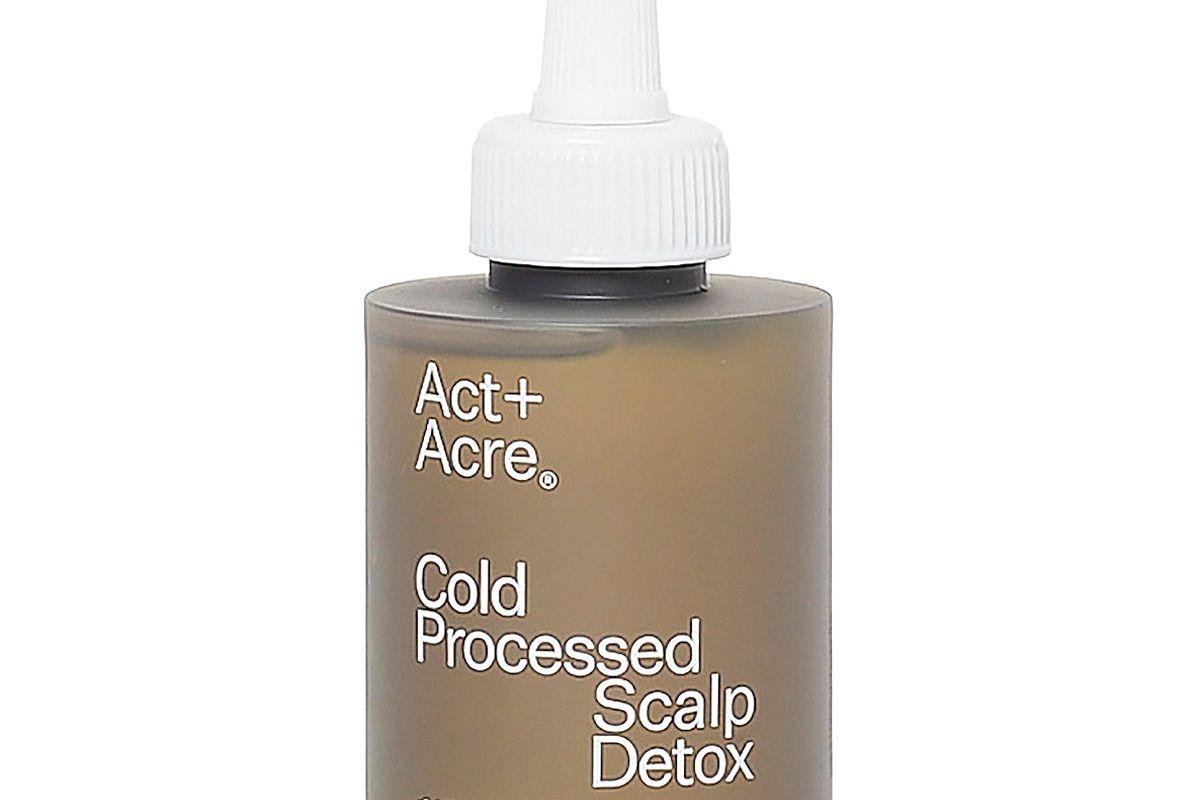 act plus acre cold processed scalp detox