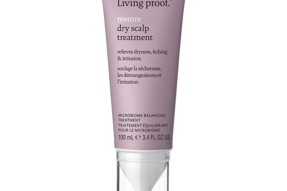 living proof restore dry scalp treatment
