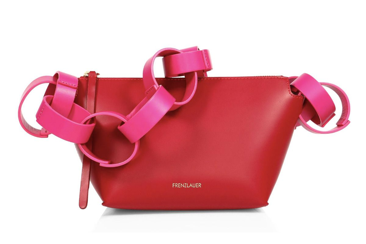 frenzlauer bowl multi circle leather shoulder bag