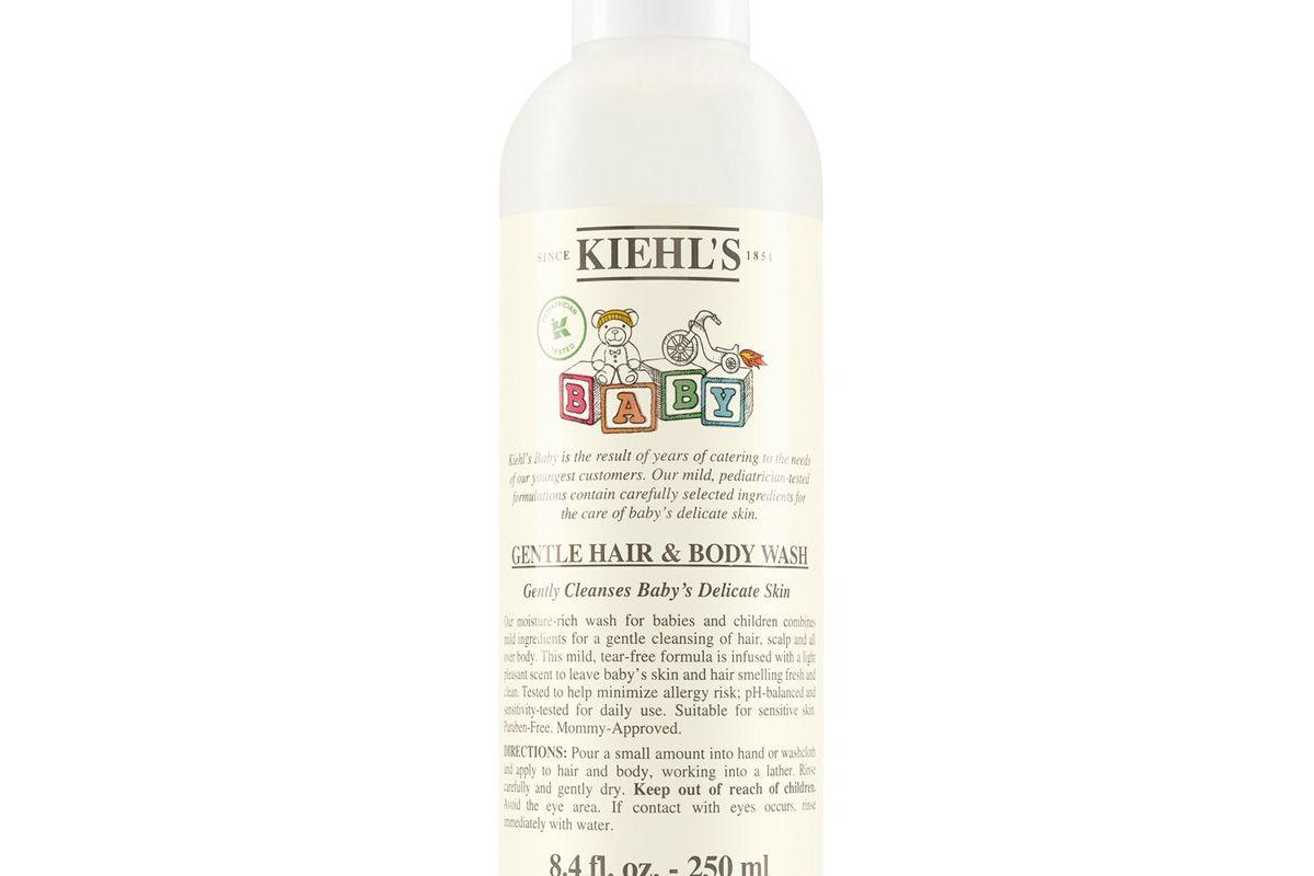 kiehls gentle hair and body wash
