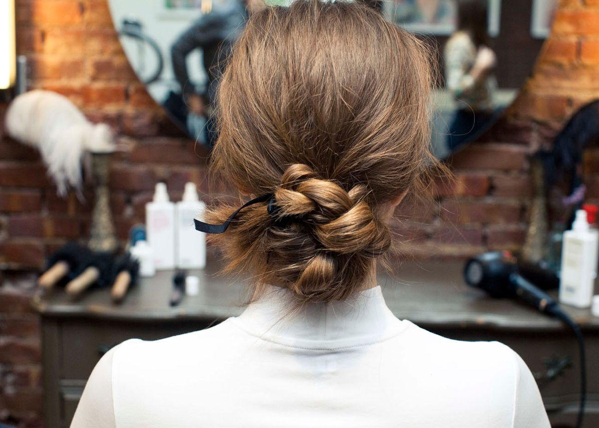 How To Make Even the Simplest Ponytail Pretty