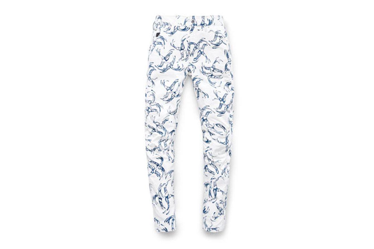 Elwood X25 3D Boyfriend Women's Jeans in The Chinoiserie Print