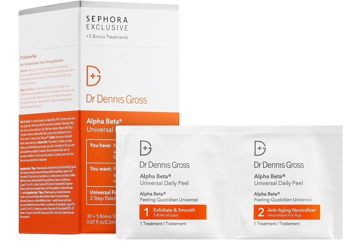 dr dennis gross skincare alpha beta universal daily peel