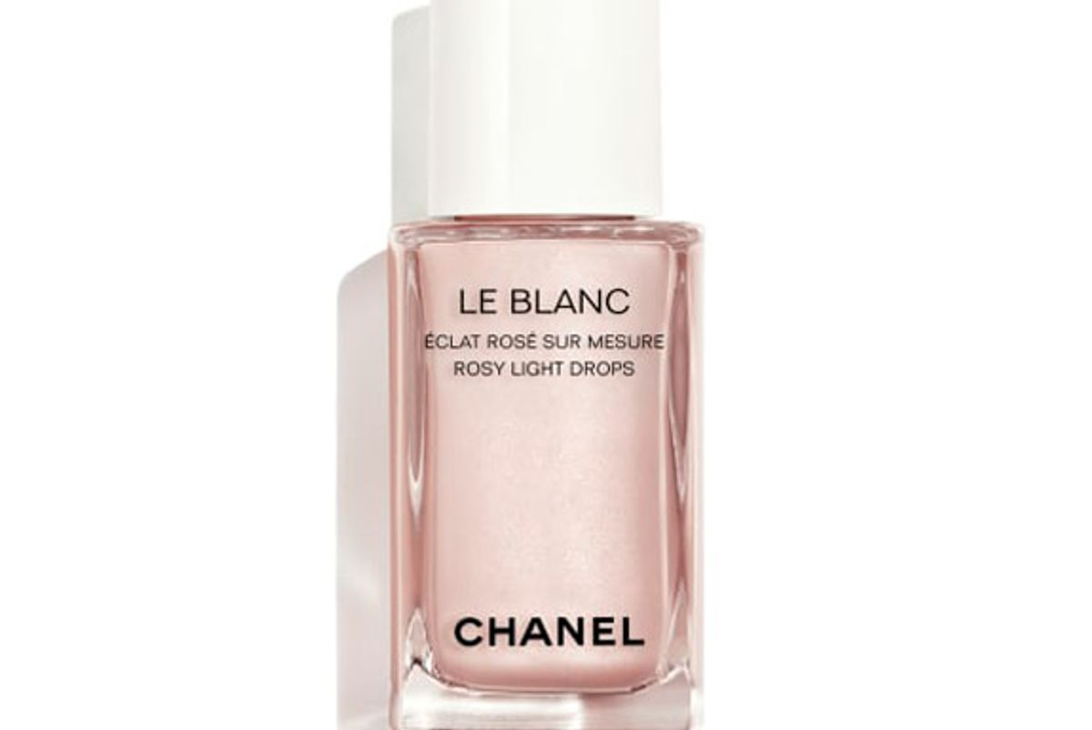 chanel beauty le blanc rosy light drops