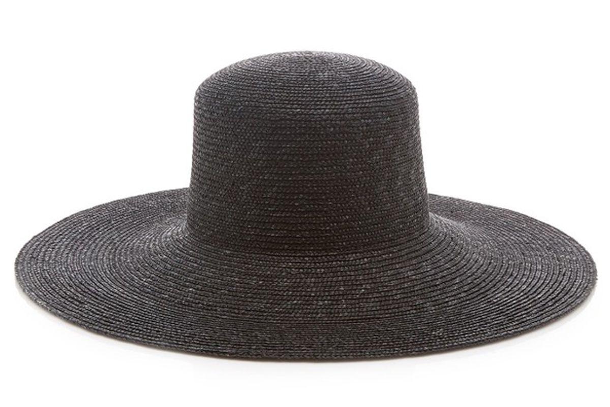 clyde wide brim straw hat