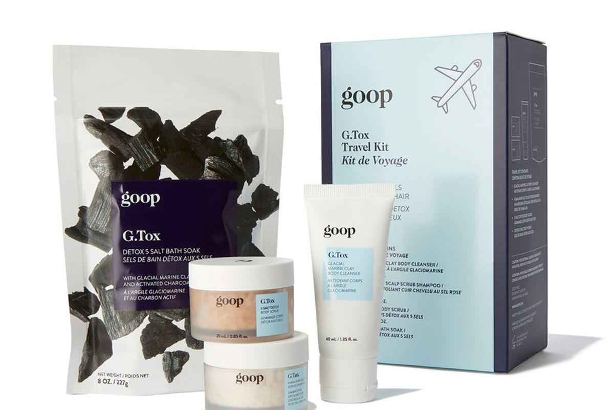 goop beauty g tox travel kit