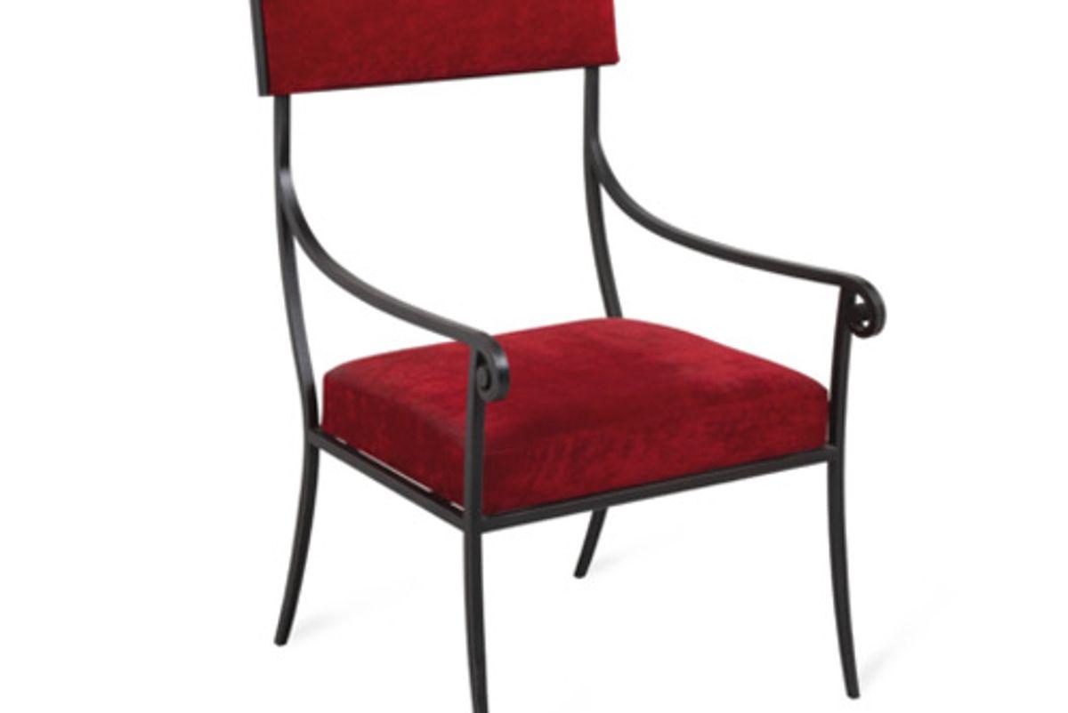 henri pouenat arcade armchair