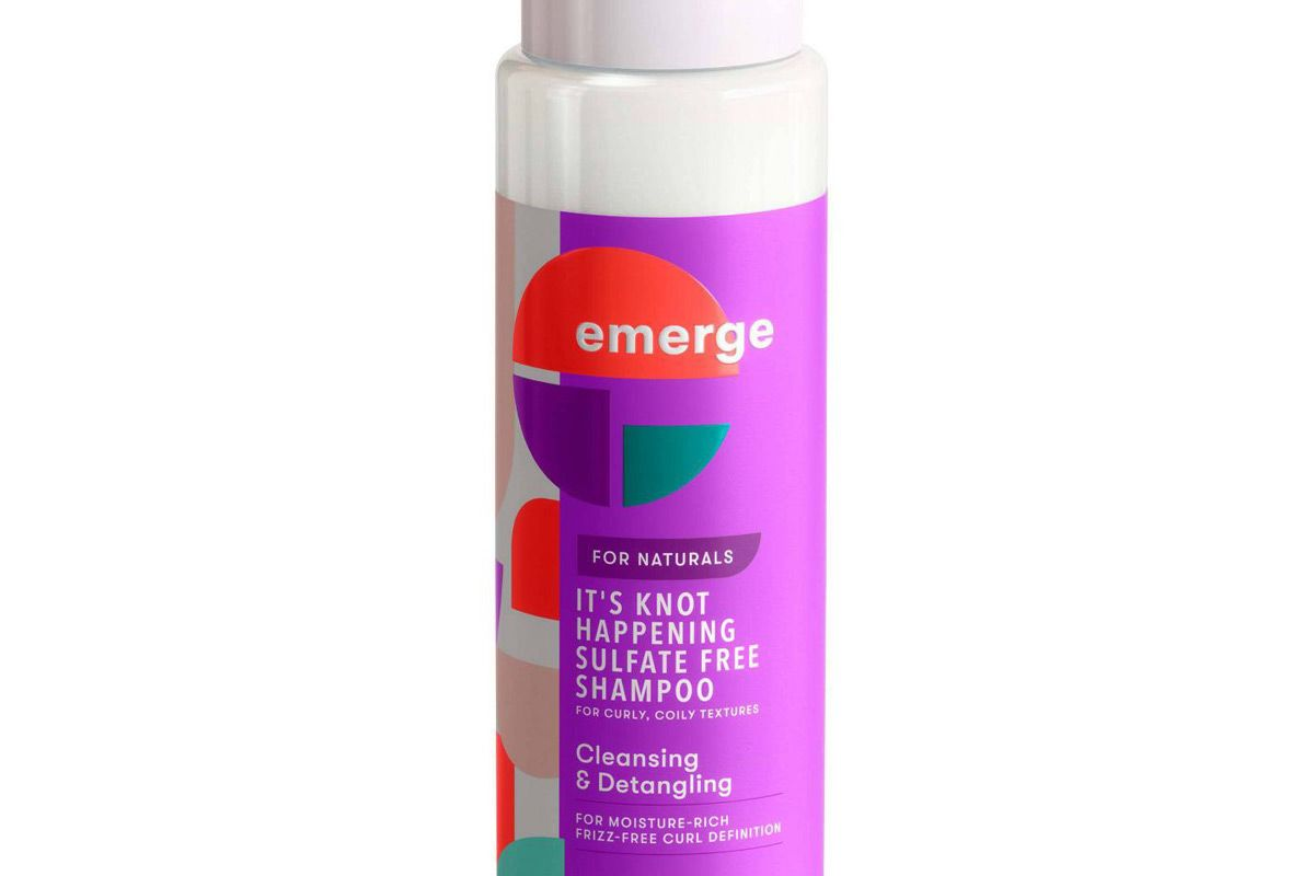 emerge hair care its knot happening sulfate free shampoo