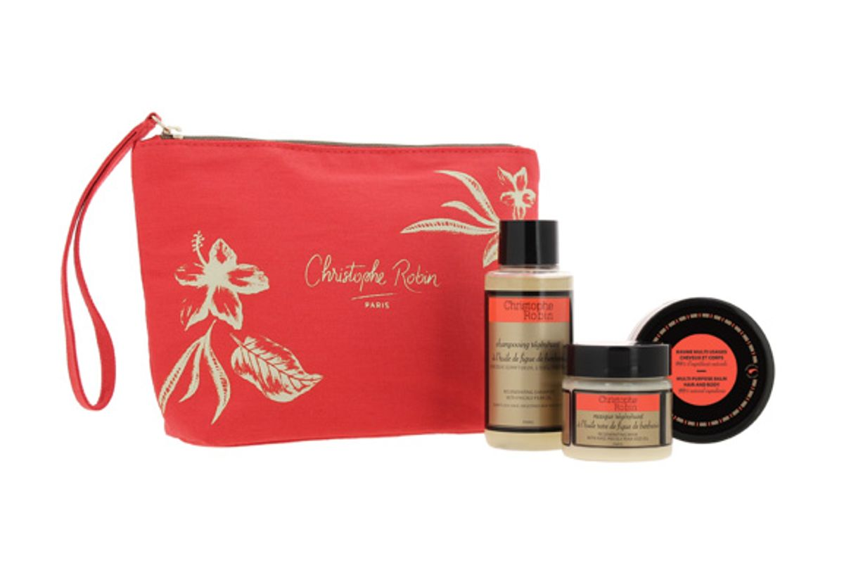 christophe robin regenerating routine travel pouch
