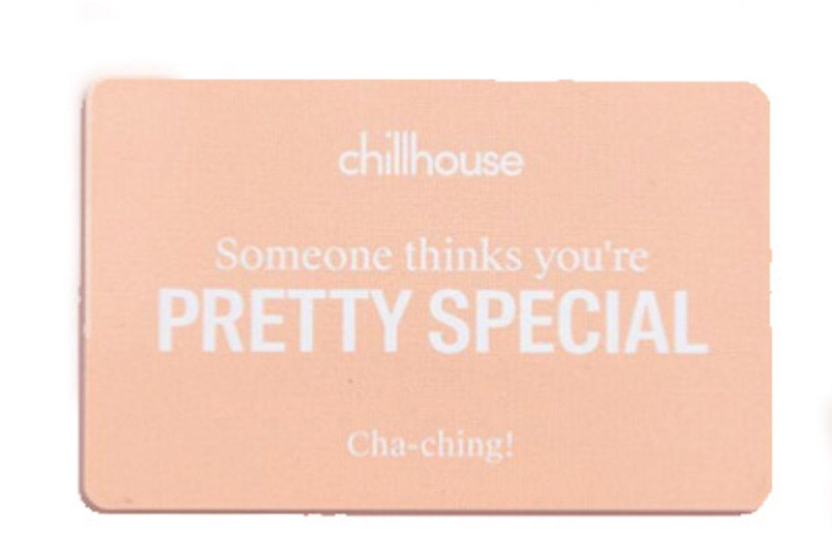chillhouse promo code