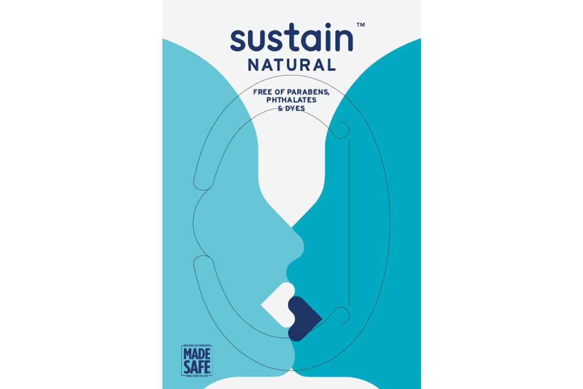 sustain natural post play wipes