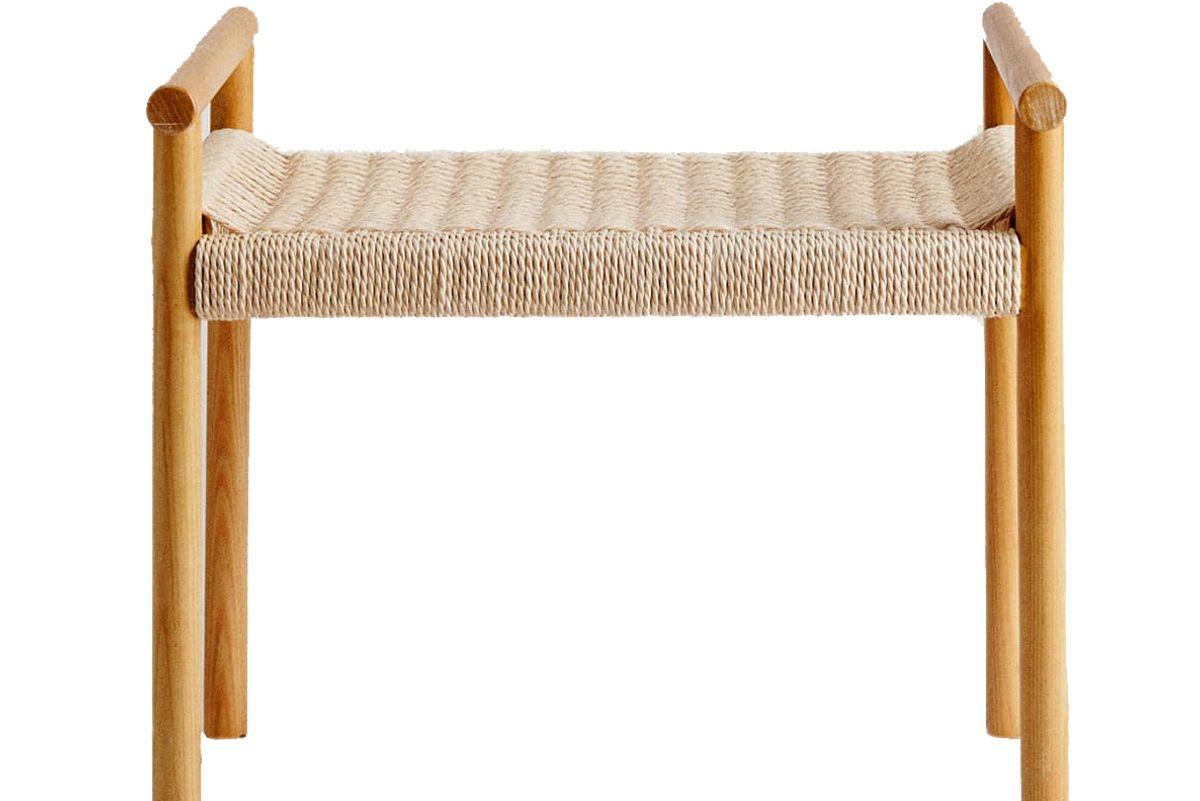 zara home wooden bench
