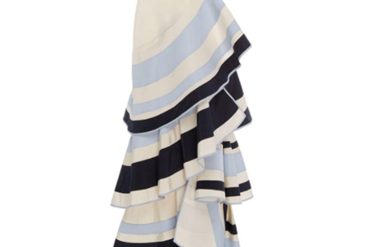 Lombard Street Tiered Ruffle Skirt