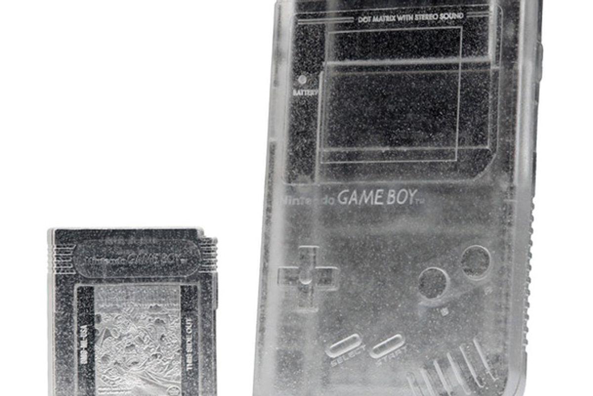 daniel arsham crystal relic 002 nintendo game boy