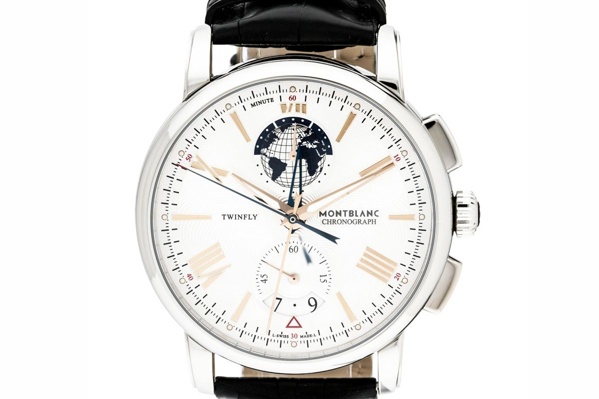 monblanc twinfly 4810 watch