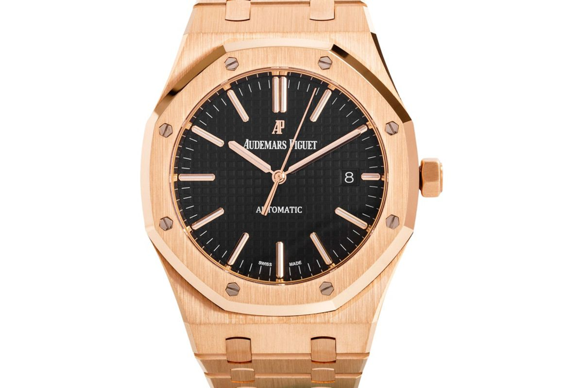 audemars piguet black roayal oak 15400or oo 1220or 01