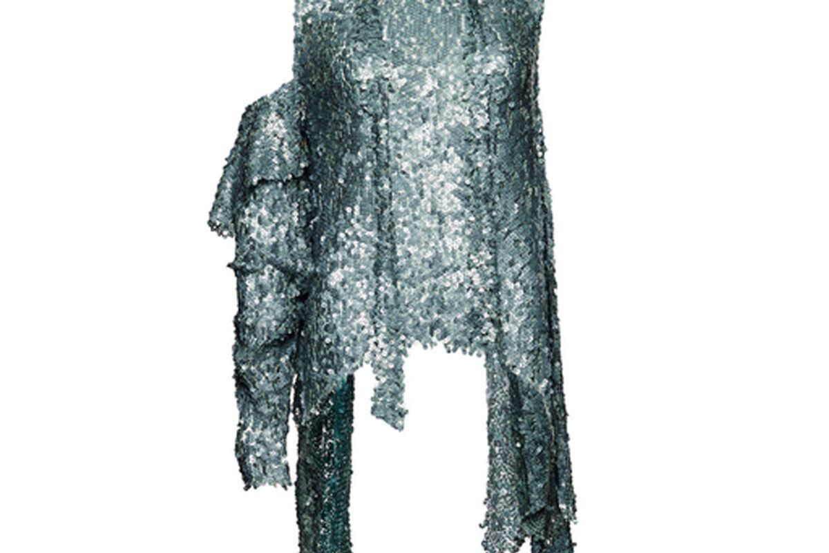 Sequin Embellished One Shoulder Top