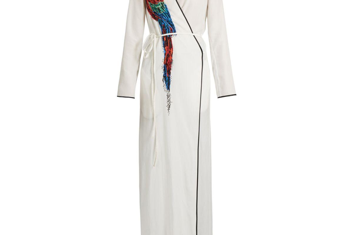 Raquel Parrot Embellished Dress