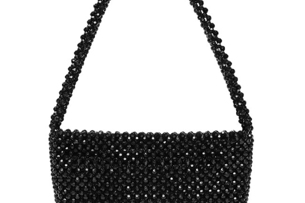 loeffler randall marleigh beaded shoulder bag