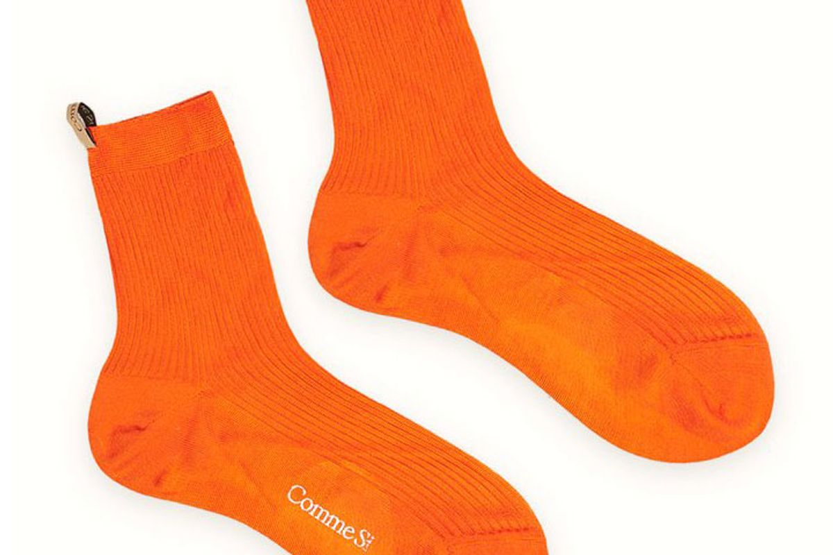 comme si silk socks