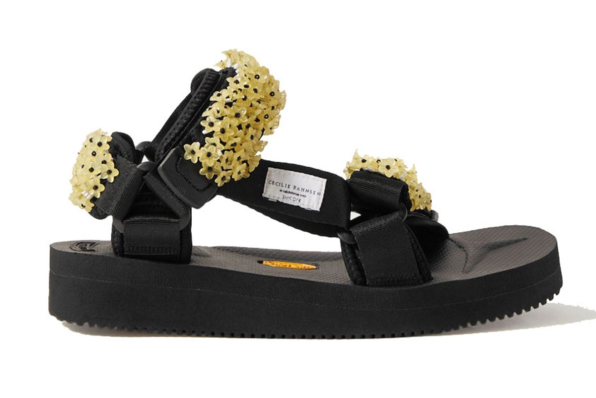 cecilie bahnsen suicoke maria embellished canvas sandals