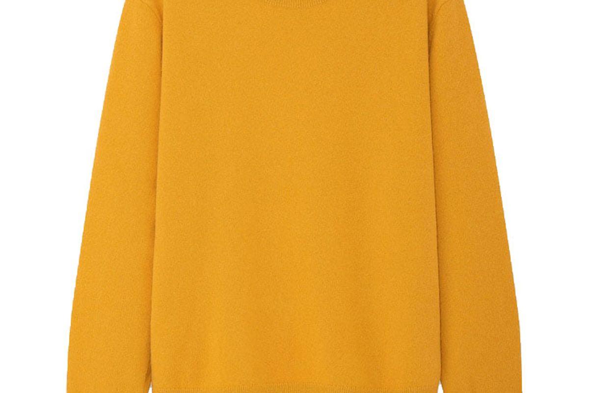 uniqlo women cashmere crew neck sweater