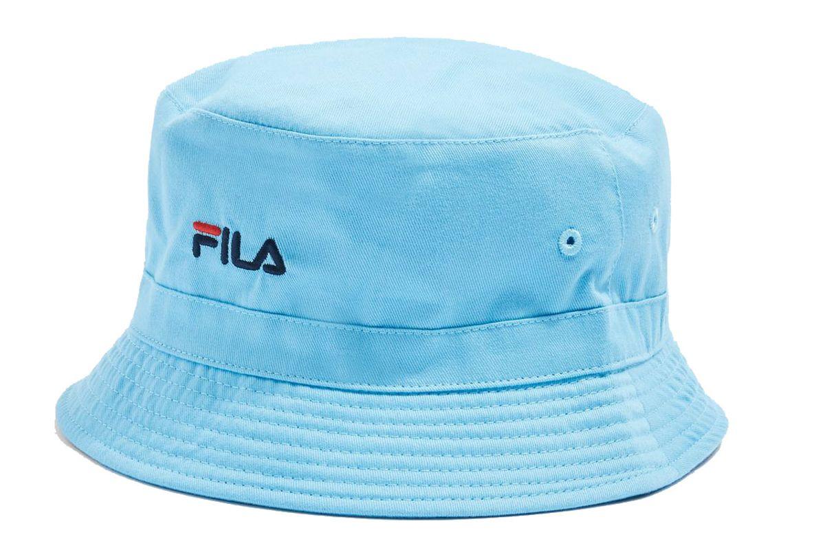fila blue baxter bucket hat