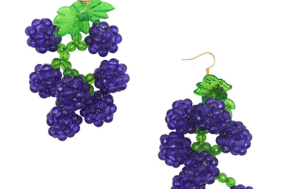 susan alexandra grape slushie earrings
