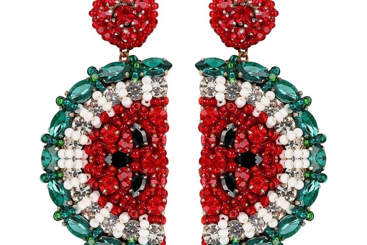 deepa gurnani fruit earrings