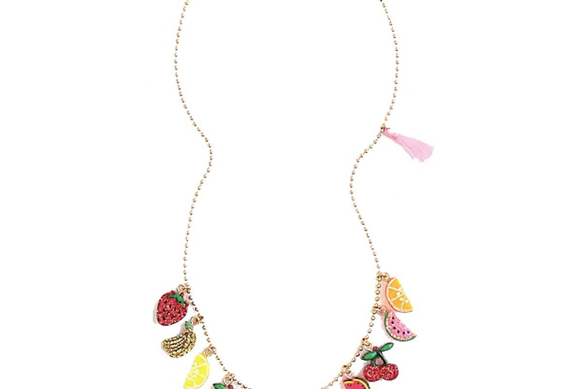 j.crew girls fruit necklace shop