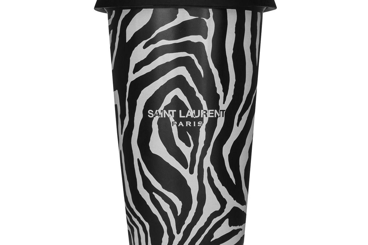 saint laurent zebra coffee mug in ceramic