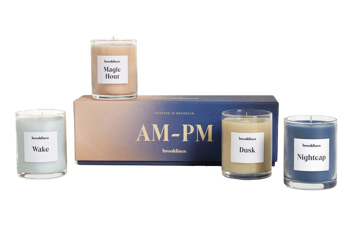 brooklinen scented candle
