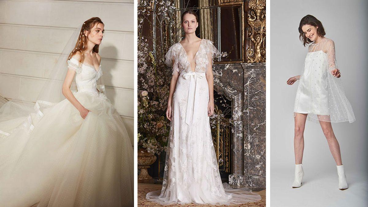 2018 wedding dress trends