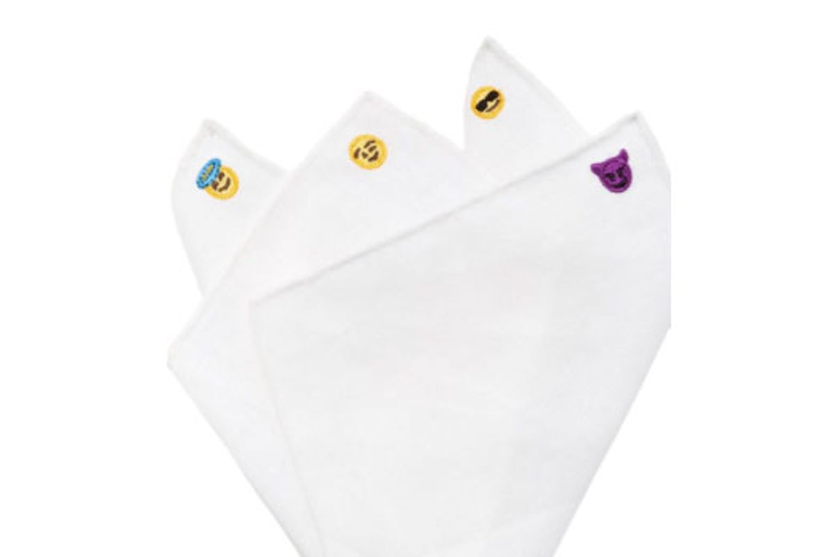 Emoji Pocket Square