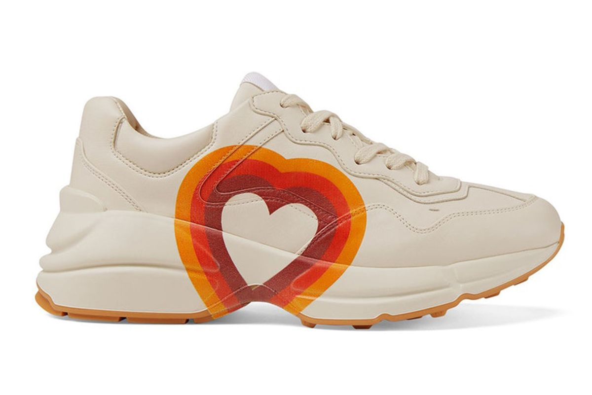 gucci rhyton interlocking g heart sneakers