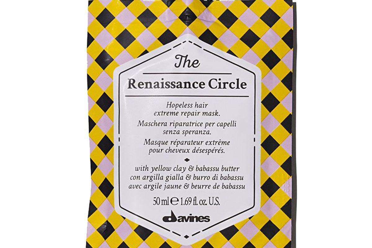 davines the renaissance circle mask