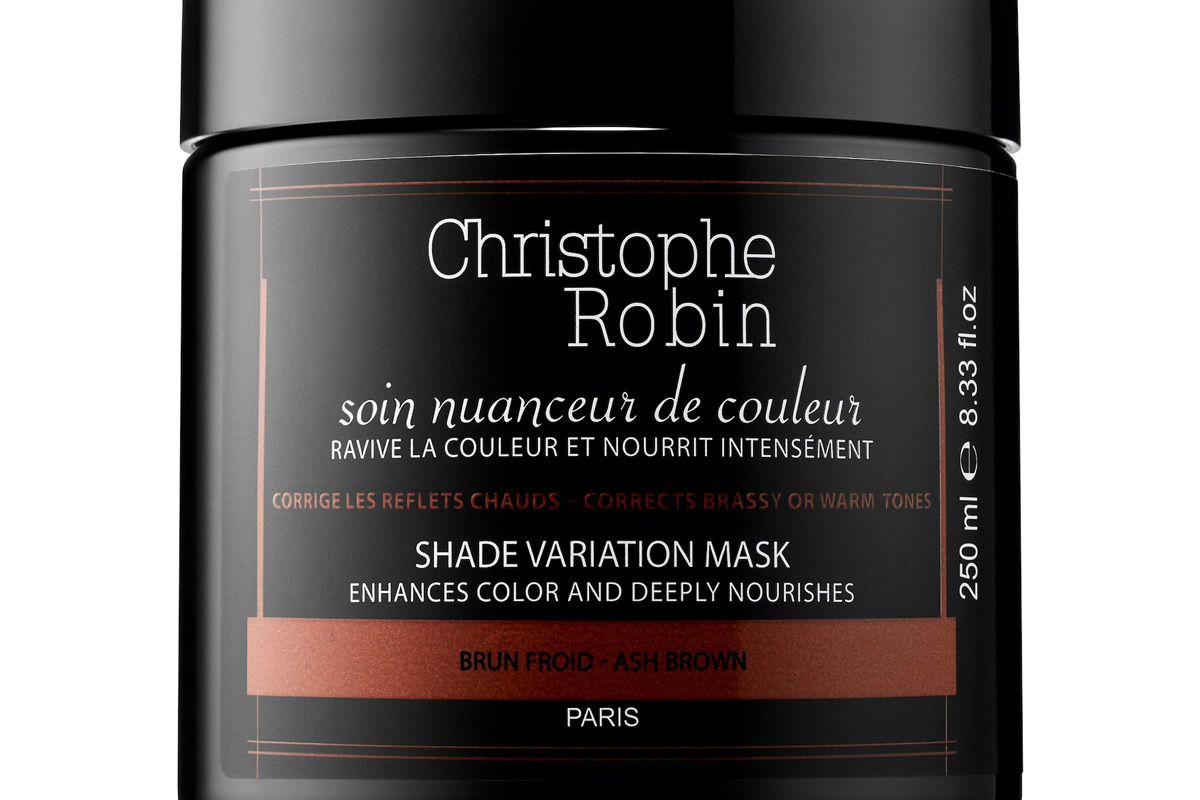 christophe robin shade variation mask ash brown