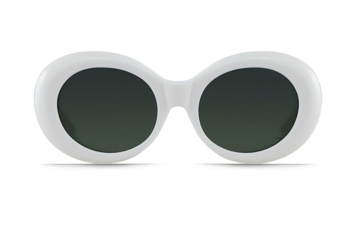 Figurative Oval Sunglasses