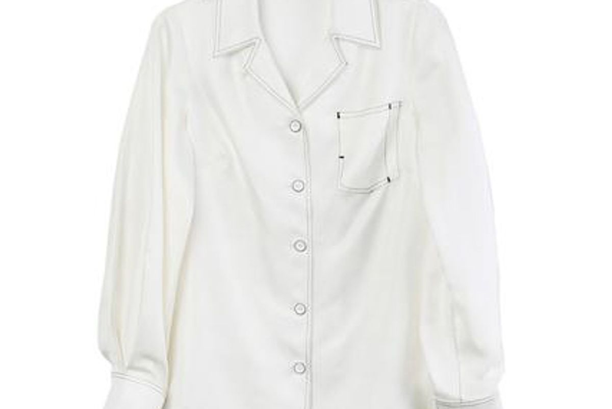 Long Sleeve Bowling Shirt