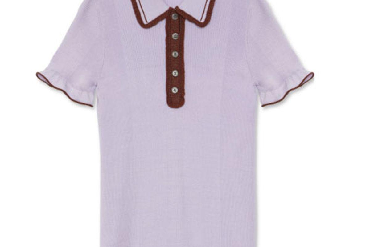 Frill Polo Shirt