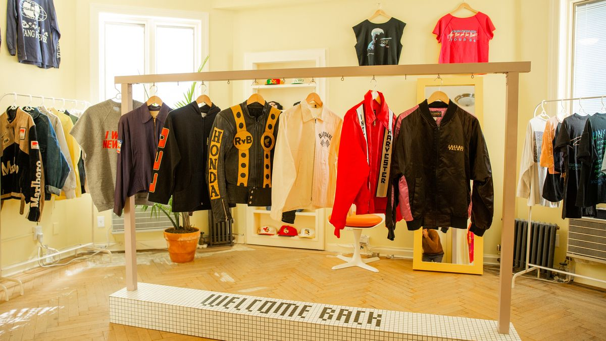 welcome back vintage shop founders