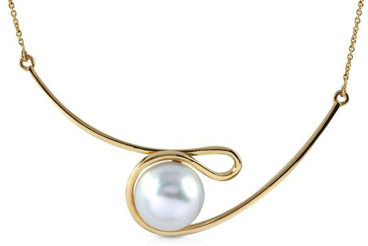 kavant and sharart talay south sea pearl silhouette necklace